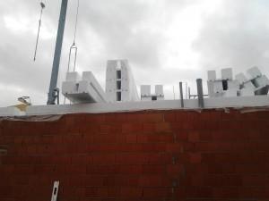 Cantiere Mira – tetto isolato con thermorex mod.2