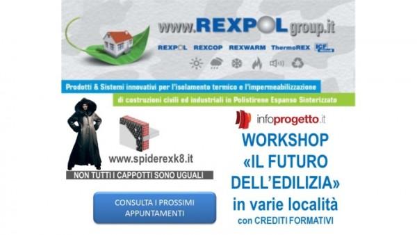 """Workshop 2018 con REXPOLgroup – """"Il futuro dell'edilizia"""""""